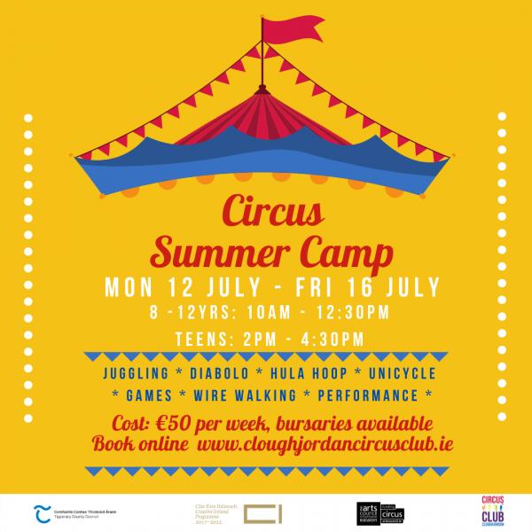Summer Camp 12-16 July
